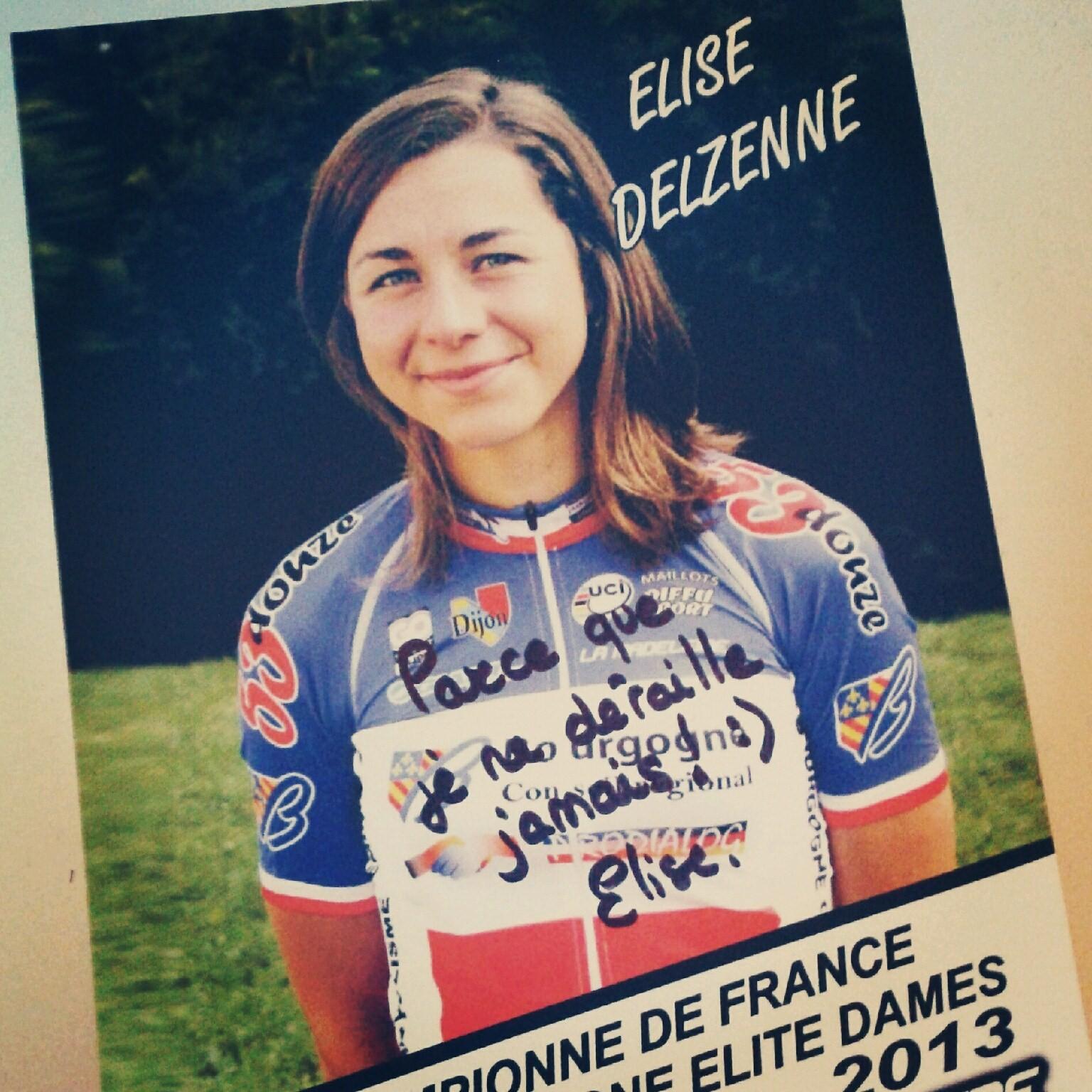 Elise Delzenne - Le Dérailleur